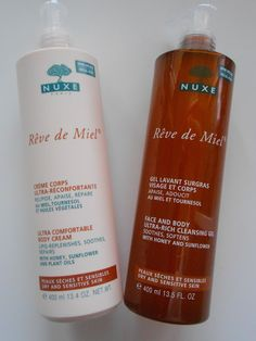 #Nuxe #body #shower http://ziriane.blogspot.sk/2016/04/review-nuxe-reve-de-miel-cleansing-gel.html