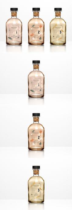 Spirituous Kombucha Packaging by María Fuentenebro | Fivestar Branding Agency – Design and Branding Agency & Curated Inspiration Gallery  #packaging #packagingdesign #packaginginspiration #branding #design #behance #dribbble #pinterest #fivestarbranding