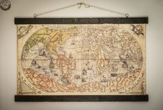 Colorful world map 54'' x 34''/ 140cm x 87cm by Zmaps on Etsy