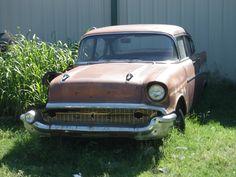 Chevrolet Bel-Air sedan 1957 (route 66 2013)