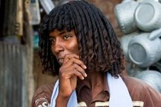 ... Hairstyle: The Ethiopian <b>tribes</b> who use BUTTER to style their hair