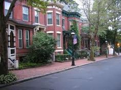 Mattoon Street, Springfield, MA  Historic District  Brick  Rowhouses
