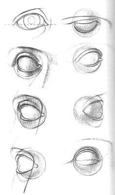 Arte Com Grey's Anatomy, Eye Anatomy, Anatomy Art, Human Eye Drawing, Human Anatomy Drawing, Anatomy Sketches, Art Drawings Sketches, Portrait Drawing Tips, Eye Sketch