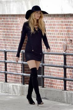 Blog Personal Style | Blog de moda | Street Style: Thigh high boots trend