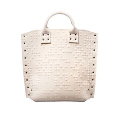 Braille Bag, $169, by NONdesigns