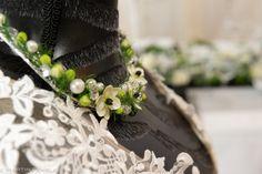 Halskette aus Silberdraht &Flowers Hand Arbeit www.olga-fischer.de