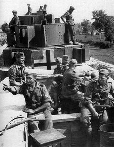 Captured Russian armoured train 1941