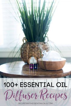 We have over 100 essential oil diffuser recipes for you to try! It's easy to try new scents as well as learn common methods to use oils. Get the most out of your essential oils by diffusing them in your home or office. 100 Essential Oils, Essential Oil Diffuser Blends, Best Diffuser, Diffuser Recipes, It's Easy, Easy Meals, Essentials, Diffusers, Bedrooms