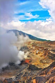 Volcano Poas- Volcán Poás National Park, Costa Rica