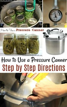 Canning 101 - How to Can Green Beans - One Hundred Dollars a Month Pressure Canning Recipes, Home Canning Recipes, Pressure Cooking, Pressure Canning Green Beans, Canning Pressure Cooker, Cooking Ribs, Cooking Beets, Cooking Bacon, Jam Recipes