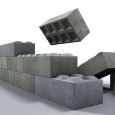 retaining wall blocks concrete blocks pros cons how to choose retaining wall material Interlocking Concrete Blocks, Concrete Building Blocks, Concrete Block Walls, Concrete Wall, Sustainable Building Design, Building Materials, Retaining Wall Blocks, Insulated Concrete Forms, House Cladding