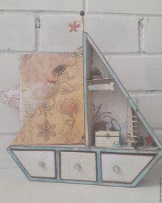 """Подарки для новорожденных, ручной работы. Ярмарка Мастеров - ручная работа. Купить Мамины сокровища 3в1 """"Кораблик"""". Handmade. Мамины сокровища"""
