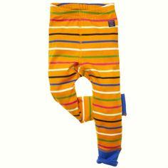 Baby Scarlett - Signature stripe leggings in Popsicle from Polarn O. Pyret $20.50