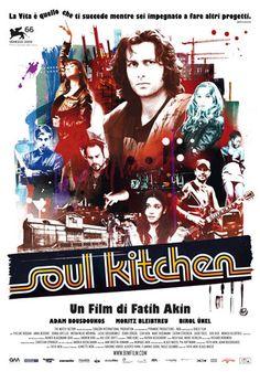 Soul Kitchen è la storia divertente e irriverente di un ristorante sgangherato, ma dove la buona #cucina scalda gli animi!