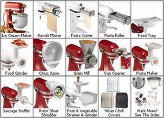 7995001 chef/'s choice metal food grinder attachment pour kitchenaid stand mélangeurs