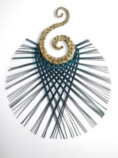 Flax Hook Weaving - Wall hanging art made in New Zealand