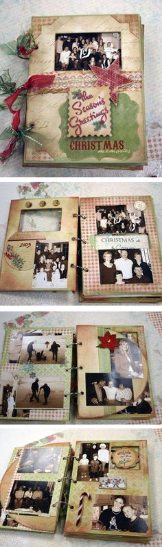 so cute! Christmas photo book