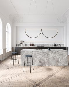 Best Simple Kitchen Designs Ideas for Small House Decoration Chord Convoy Pendant and Kitchen design by AlexAllen Studio - Add Modern To Your Life Decoration Design, Deco Design, Küchen Design, Layout Design, House Design, Design Trends, Decoration Pictures, Design Blog, Studio Design