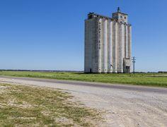 https://flic.kr/p/vbG268 | Standing Tall on the Plains | Grain Silos on the Oklahoma plains.