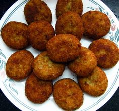 Fish Cutlet Recipe - A Hot and Spicy Indian Fish Cakes