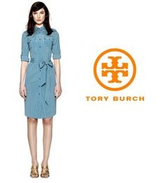 The New Tory Burch Brigitte dress is in! Full size run available in store. $350.00. Contact Info@shopserafina.com to order.