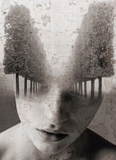 antonio mora - I need a guide - double exposure photography