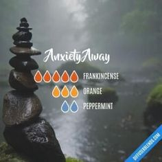 Anxiety Away - Essential Oil Diffuser Blend by lenora