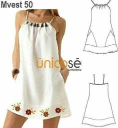 Amazing Sewing Patterns Clone Your Clothes Ideas. Enchanting Sewing Patterns Clone Your Clothes Ideas. Sewing Dress, Dress Sewing Patterns, Diy Dress, Sewing Clothes, Clothing Patterns, Fashion Sewing, Diy Fashion, Ideias Fashion, Fashion Dresses