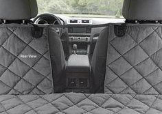 A centered mesh panel on this microfiber dog hammock car seat cover creates a viewing window between you and your pet, and allows for the passage of air and heat between the front dash and the backseat. This upgraded design increases canine comfort and do Dog Car Accessories, Dog Seat Covers, Dog Car Seats, Seat Protector, Dog Safety, Gadgets, Doja Cat, Dog Travel, Dog Supplies