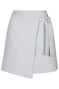 TALL EXCLUSIVE Wrap Mini Skirt