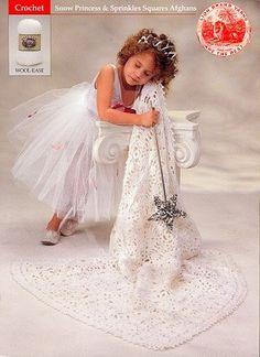 Image of Snow Princess Throw FREE PATTERN