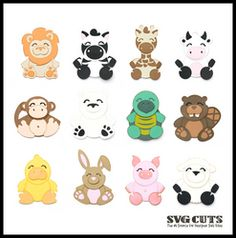 LOVE this site. Free uploads for cricut. zoo animal svg files