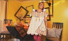 Last-Minute Adult Halloween Costume Ideas   Paperdoll...way too cute!!