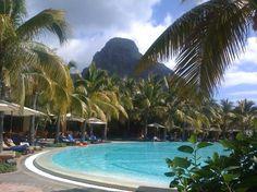 Vue sur la montagne Le Morne ... (Florence G, Feb 2013)  Un vrai paradis sur terre - Paradis Hotel & Golf Club - Mauritius