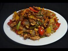 Pollo con semillas de marañones - Comida China