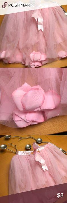 Flower skirt ballet tutu Sweet pink with flowers sewn into the hem. Lovely skirt for your Darling!! posh Dresses Formal