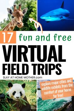 21 Indoor Activities For Kids To Battle Boredom While Stuck At Home - Plus 17 Awesome Virtual Field Trips! These awesome ideas are fun, free, and can be done with your kids without ever having to leave your home! #slayathomemother #kidscrafts #kidsactivities