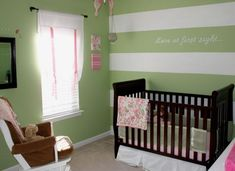 Teen Boy Bedroom Design Ideas, Pictures, Remodel, and Decor - page 41 Baby Nursery Themes, Baby Decor, Girl Nursery, Nursery Ideas, Room Ideas, Nursery Room, Decor Ideas, Craft Ideas, Striped Nursery