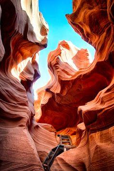 Antelope Canyon-Utah/Arizona border
