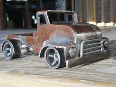 COE truck welded by JPlaiaSteelArt, follow JPlaiaSteelArt on Facebook to find and buy unique metal art.