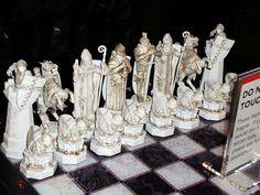 """Harry Potter"" Chess Set"