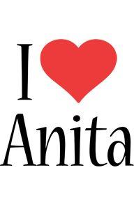 Открытка с именем анита