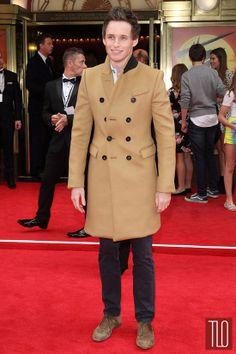 Eddie Redmayne in Burberry Prorsum