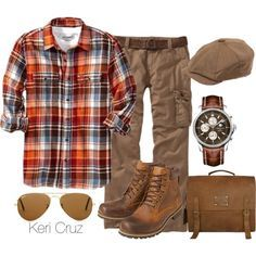 """Rugged Gentleman"" by keri-cruz on Polyvore"