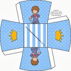 Kit para Festas - O Pequeno Principe Moreno (Fazendo a Nossa Festa)