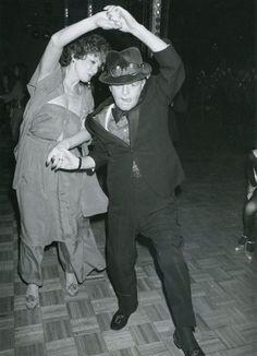 Truman Capote at Studio 54