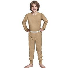 Camp Clothing - Hanes Boys XTemp SoftComfy Thermal Set *** See this great product.
