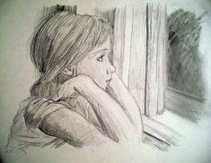 depressed girl drawing, pencil, sketch, colorful, realistic art - sketch of Sad Sketches, Girl Drawing Sketches, Girl Sketch, Art Drawings Sketches Simple, Pencil Art Drawings, Life Drawing, Easy Drawings, Sad Girl Drawing, Hipster Drawings