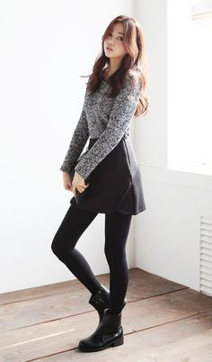 Cute Girls Wearing Boots | 1000+ ideas about Asian Fashion on Pinterest | Korean Fashion, Fashion ...