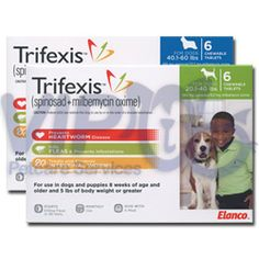 Trifexis >> Protect your dog from adult fleas & heartworm with a pill.. the pill does what it says it will do. Side effects do include nasuea.. contents of the pill upset my dogs stomach & he has thrown up after taking the pill. After awhile, he started to recognize the pill & would not eat even disguised in food, peanut butter or pill pockets. I would still recommend as it is an all-in-one pill solution to protect your dog.